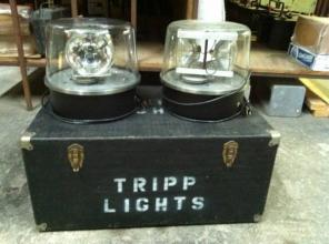 Pair of Tripp Lights! Vintage! Awesome!