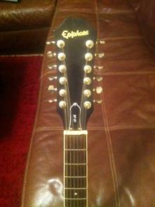 12 String Epiphone Guitar w hard case