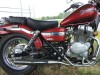 2007 Honda Rebel 250cc RED
